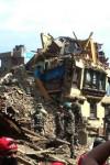 नेपाल - पूरा कस्बा हो गया जमींदोज़