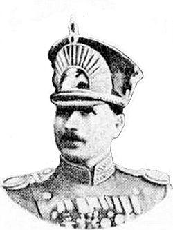Михайло Муравйов у формі підполковника царської армії