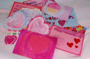 Make your donor an old-fashioned valentine.