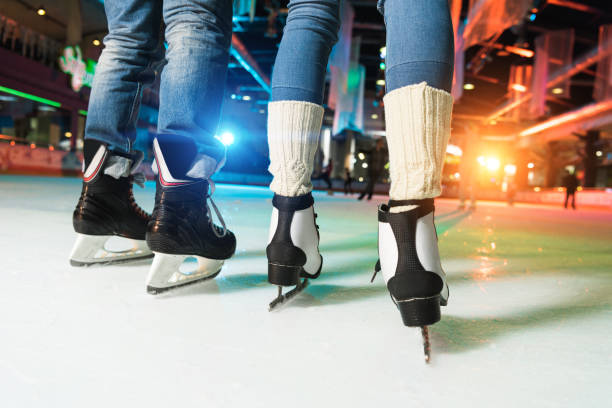 Ice Skating on 14th february is an Idea for couples which are into outdoor activities