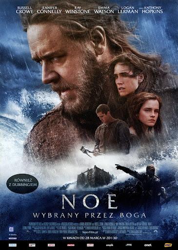 Przód ulotki filmu 'Noe: Wybrany Przez Boga'