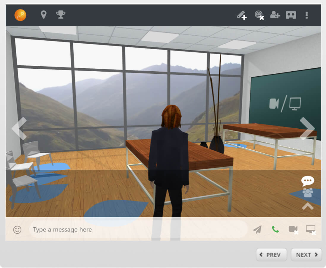 V2 VR Scenario Chat Mapper-Storyline integration with SCORM 1 2
