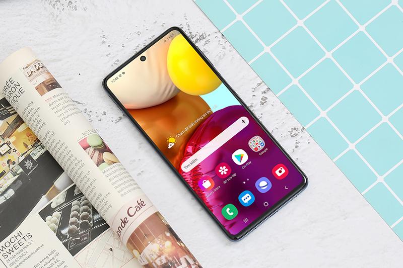 Sở hữu màn hình tràn viền với độ phân giải cao | Samsung Galaxy M51