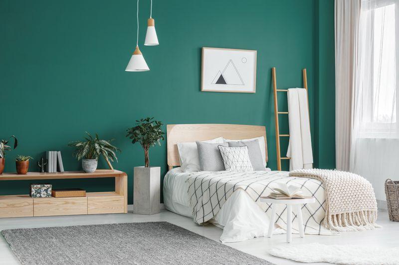 運用色彩搭配與簡約線條成為獨具哥本哈根風情的房間