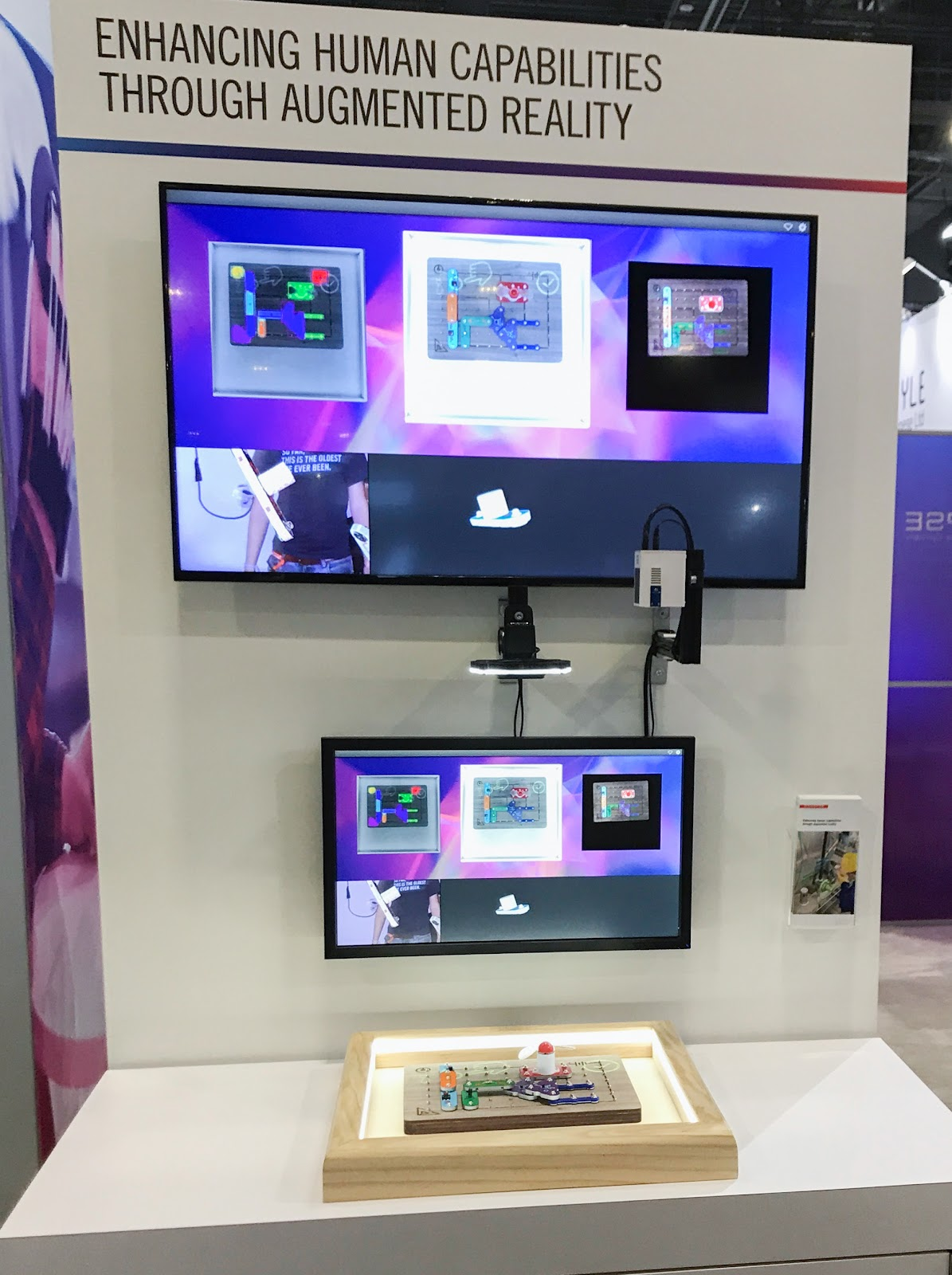 The HECTAR demo showcase at CES 2018.