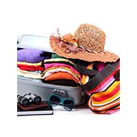 Багаж в для отдыха, фото