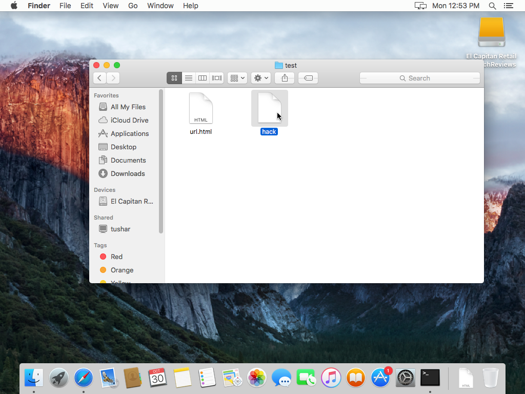 C:\Users\Tushar\Desktop\OS X 10.11 El Capitan-2017-10-31-01-23-23.png