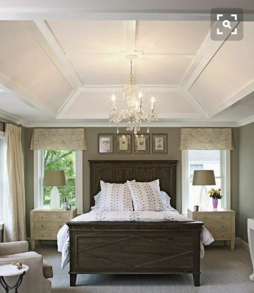 Traditional Style Bedroom Is Never Out of Fashion