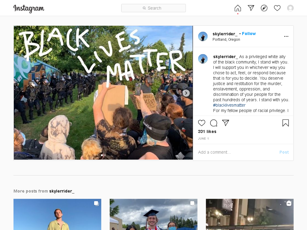 screenshot of https://www.instagram.com/p/CA5nhiFnhEh/
