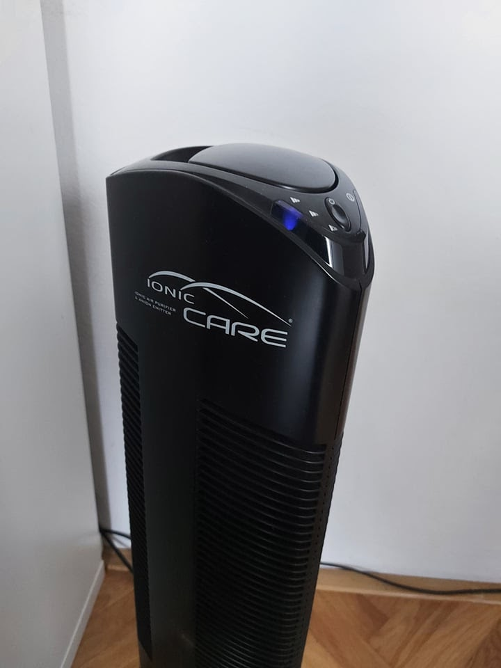 Recenze ProZdraví: Čistička vzduchu Ionic-CARE Triton X6