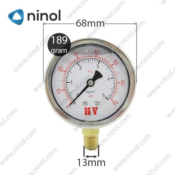 Đồng hồ đo áp suất dầu