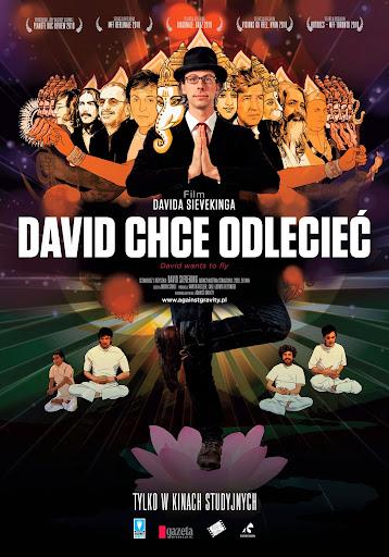 Polski plakat filmu 'David Chce Odlecieć'