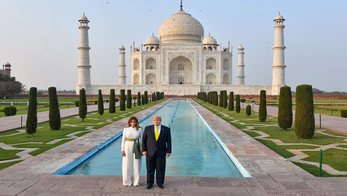 President Trump was impressed after learning story of Taj Mahal: Tour guide  | India News – India TV