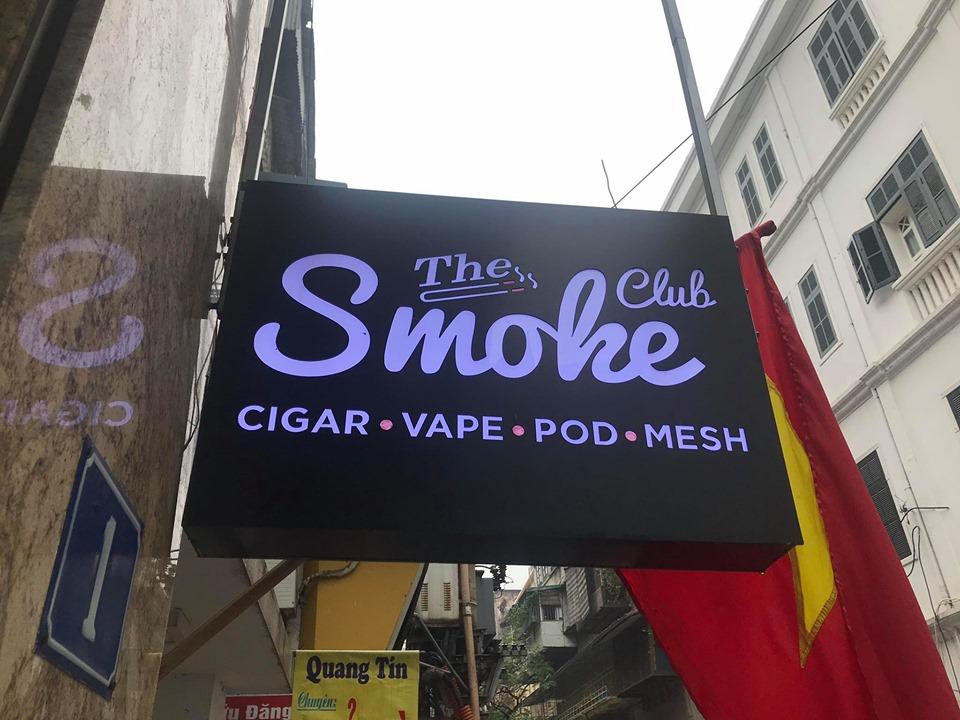 Cửa hàng The Smoke Club kinh doanh Vape Pod System cực uy tín