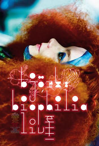 Polski plakat filmu 'Björk: Biophilia Live'