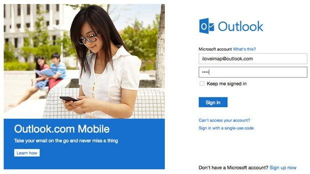 Outlook.com gains IMAP support, integrates with third-party services like TripIt