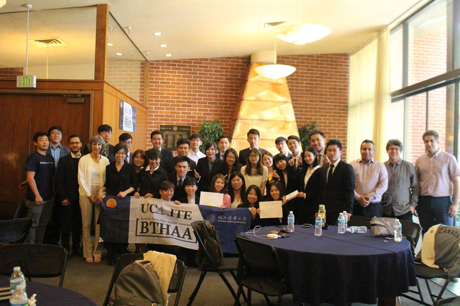 柏克萊清華校友會補助12名高中生赴矽谷培訓