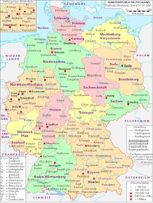 much deutschland landkarte Deutschland Landkarte