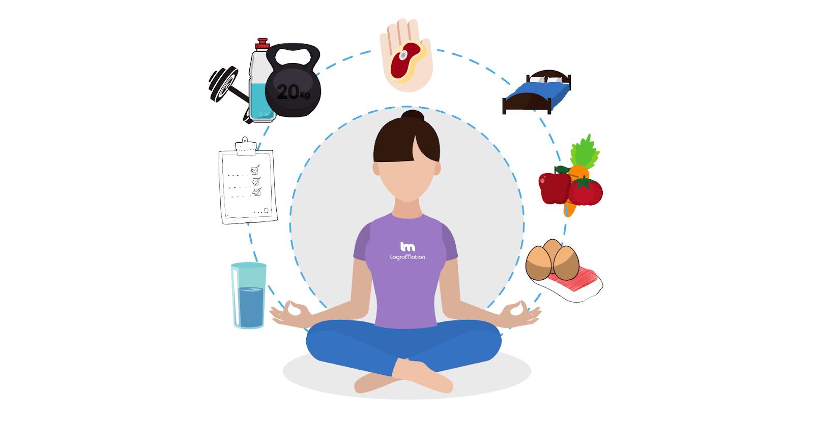 Los diez hábitos que te aseguran una vida más sana