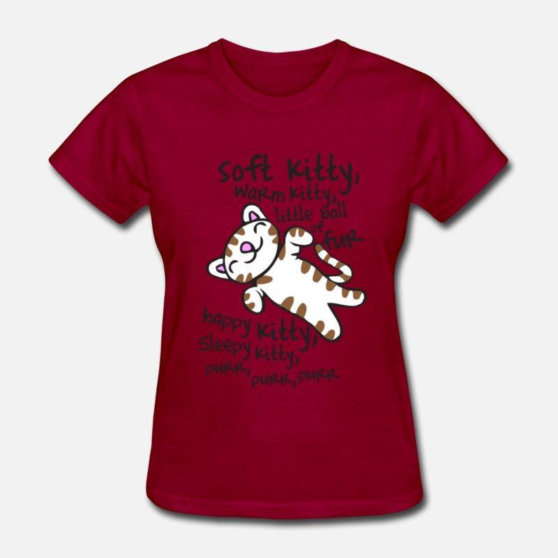 Image result for soft kitty warm kitty t shirt