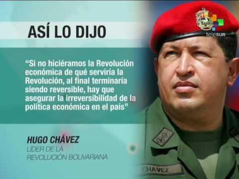 Hugo Chávez abogó por una nueva política económica en Venezuela - YouTube