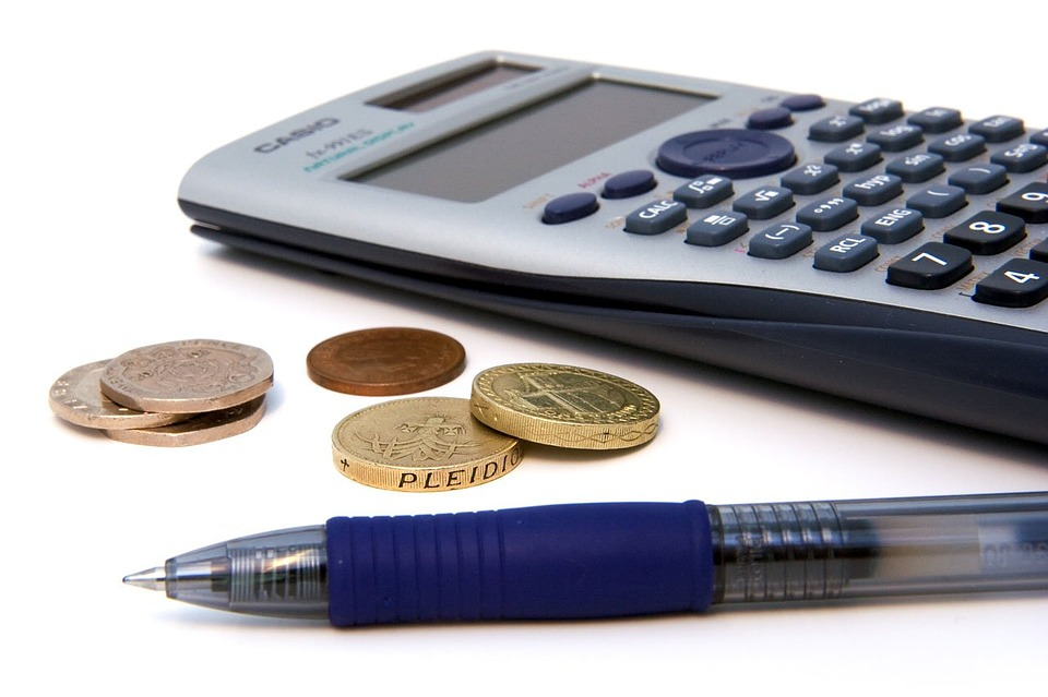 Calculator, Money, Pen, Business, Office, Equipment