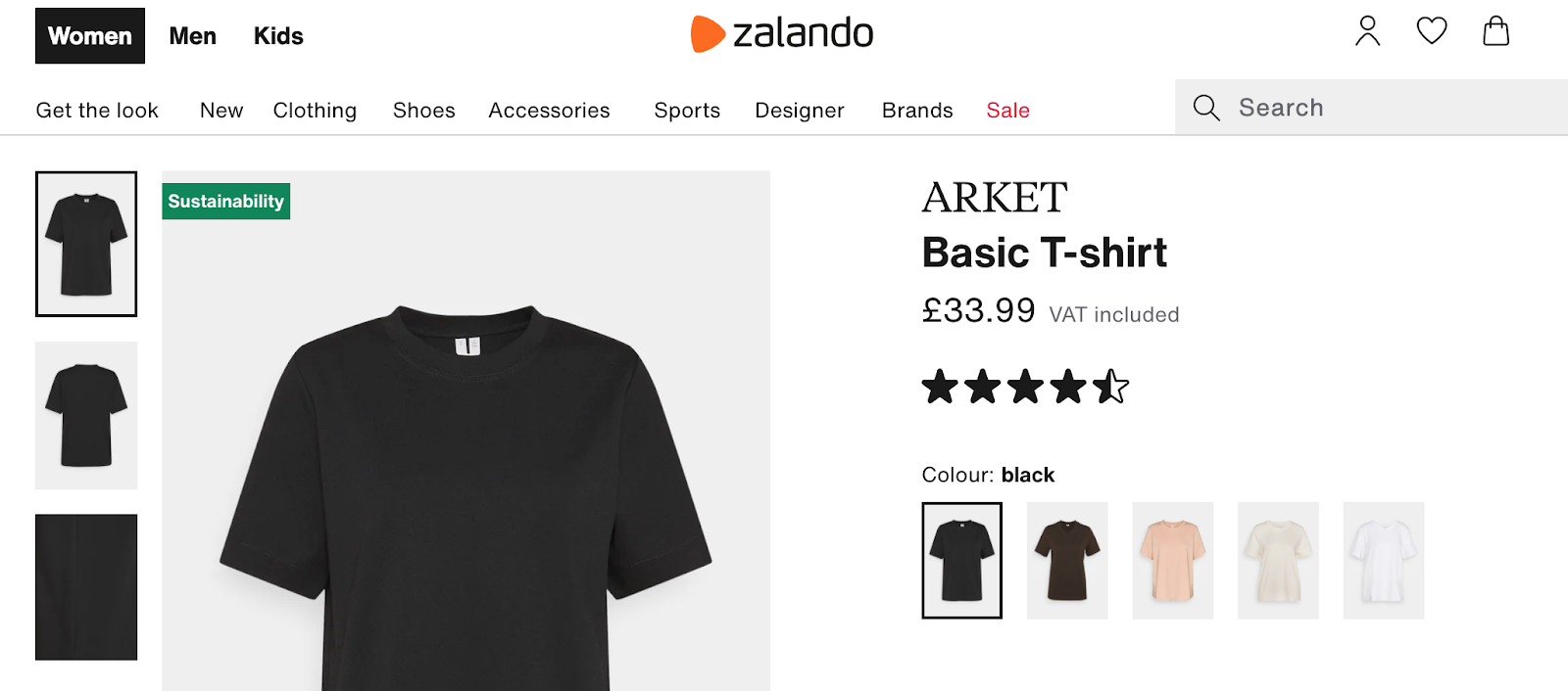 ecommerce product badging for data-driven CX Zalando