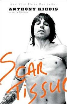 Anthony Kiedis's book cover.