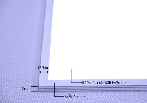 LEDライトモジュールの構造
