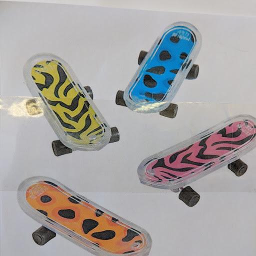 Small finger skateboards