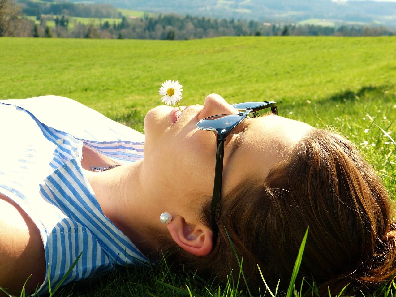 No hacer nada también es uno de los beneficios de viajar sola