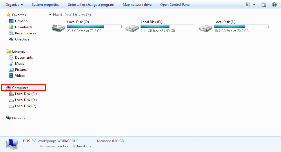 no option to create Outlook data file