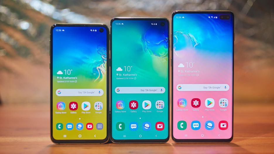 Samsung S10, S10 Plus
