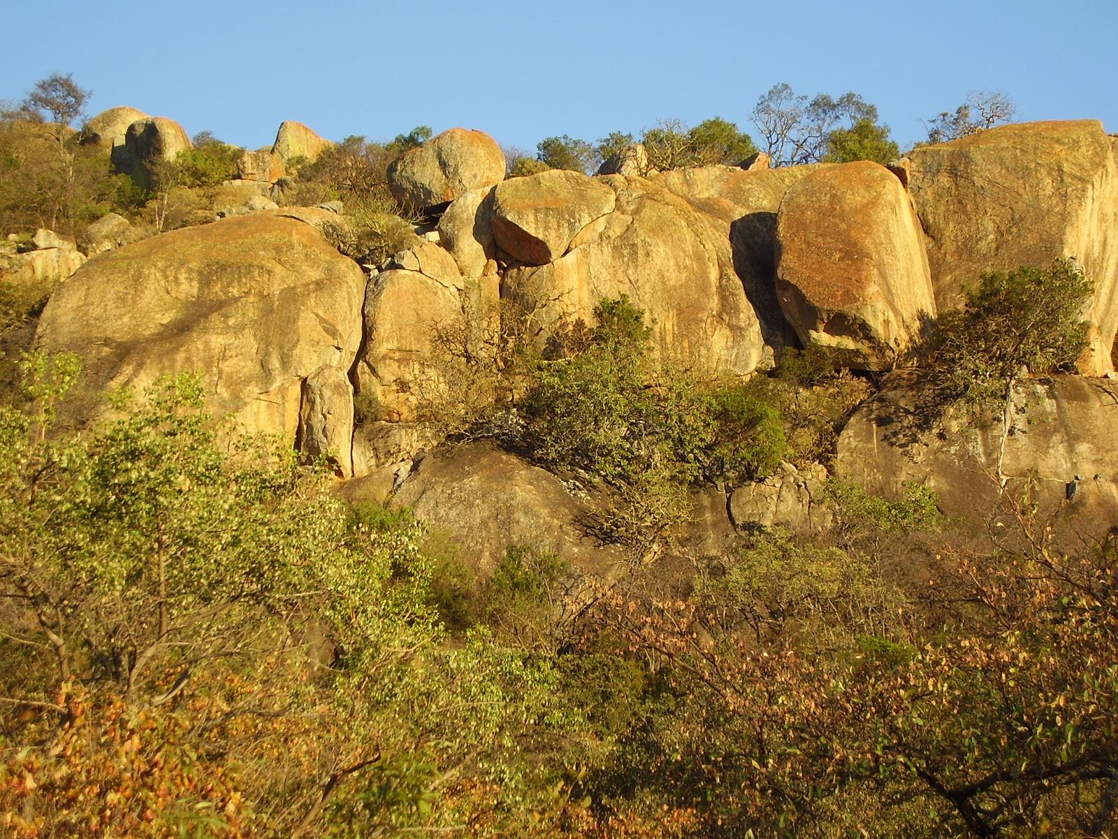 Matopos landscape