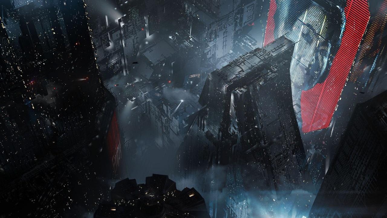 Кадр из аниме «Бегущий по лезвию: Блэкаут 2022», режиссёр Синъитиро Ватанабэ