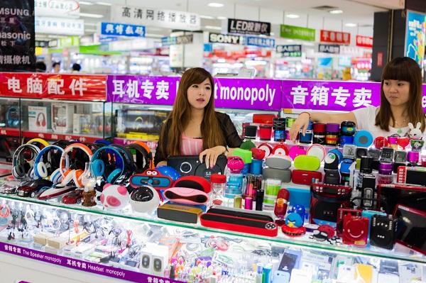 kinh doanh đồ điện tử Trung Quốc