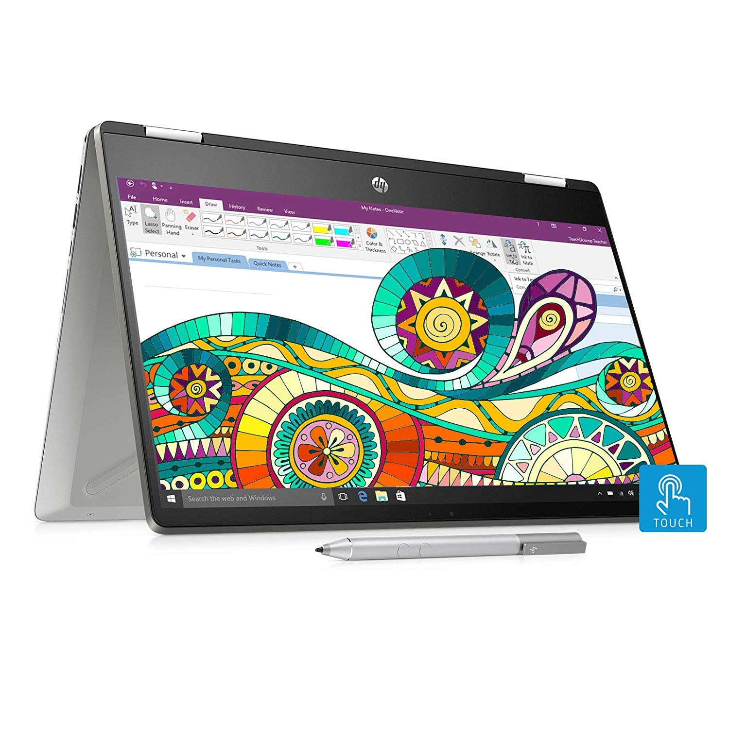 HP Pavilion x360 2 in 1 Laptop