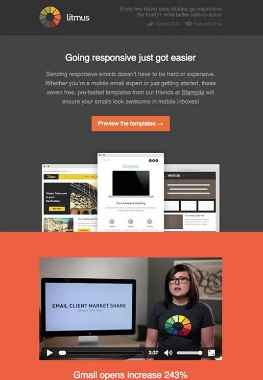 Litmus - Email Marketing Campaign - Email Newsletter