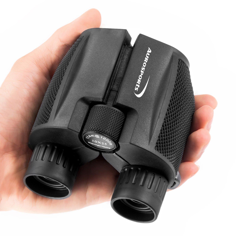 Aurosports 10x25 Compact Night Vision Binoculars