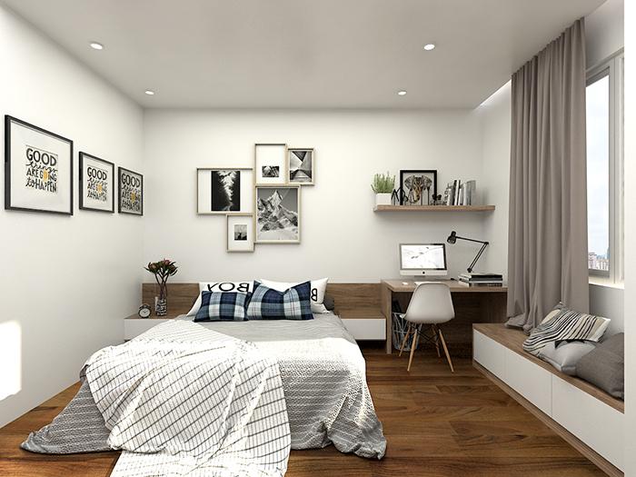 Phòng ngủ đẹp nhỏ 4