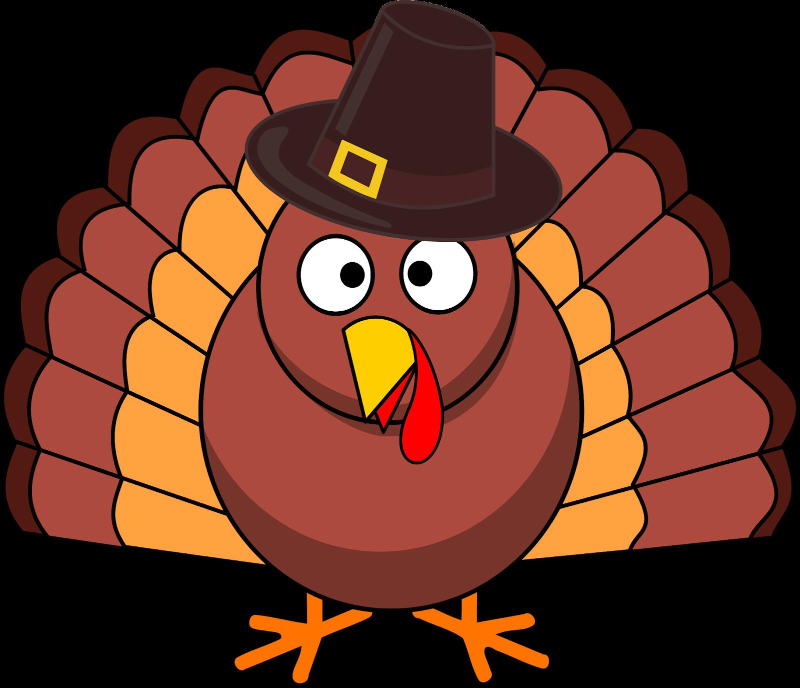 Free Stock Photo of Turkey with Pilgrim Hat vector file - Public ...