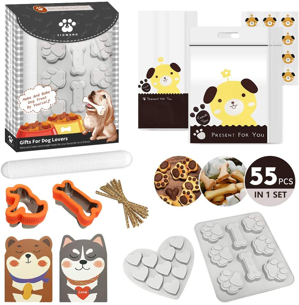 baking set for dog treats gifts for dog owners