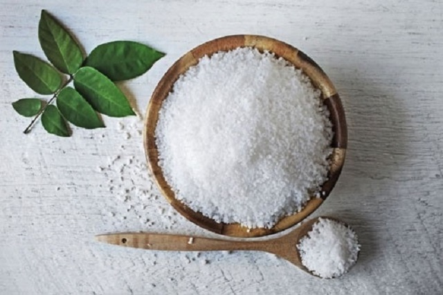 Muối trắng sử dụng làm bùa yêu