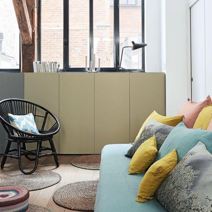 Un meuble de rangement magnifié par la couleur