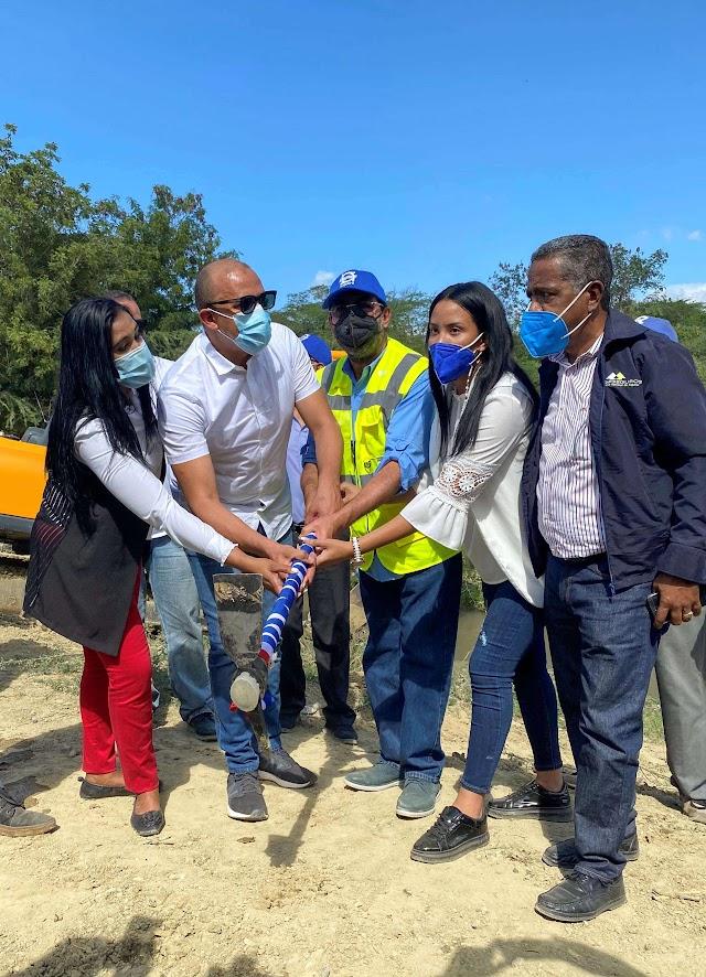 INDRHI inicia trabajos para garantizar un riego eficiente en San Juan y Elías Piña