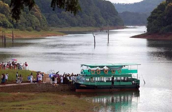 Image result for periyar lake thekkady