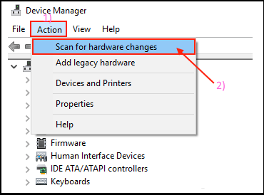 Uninstall and Reinstall printer device from windows 10