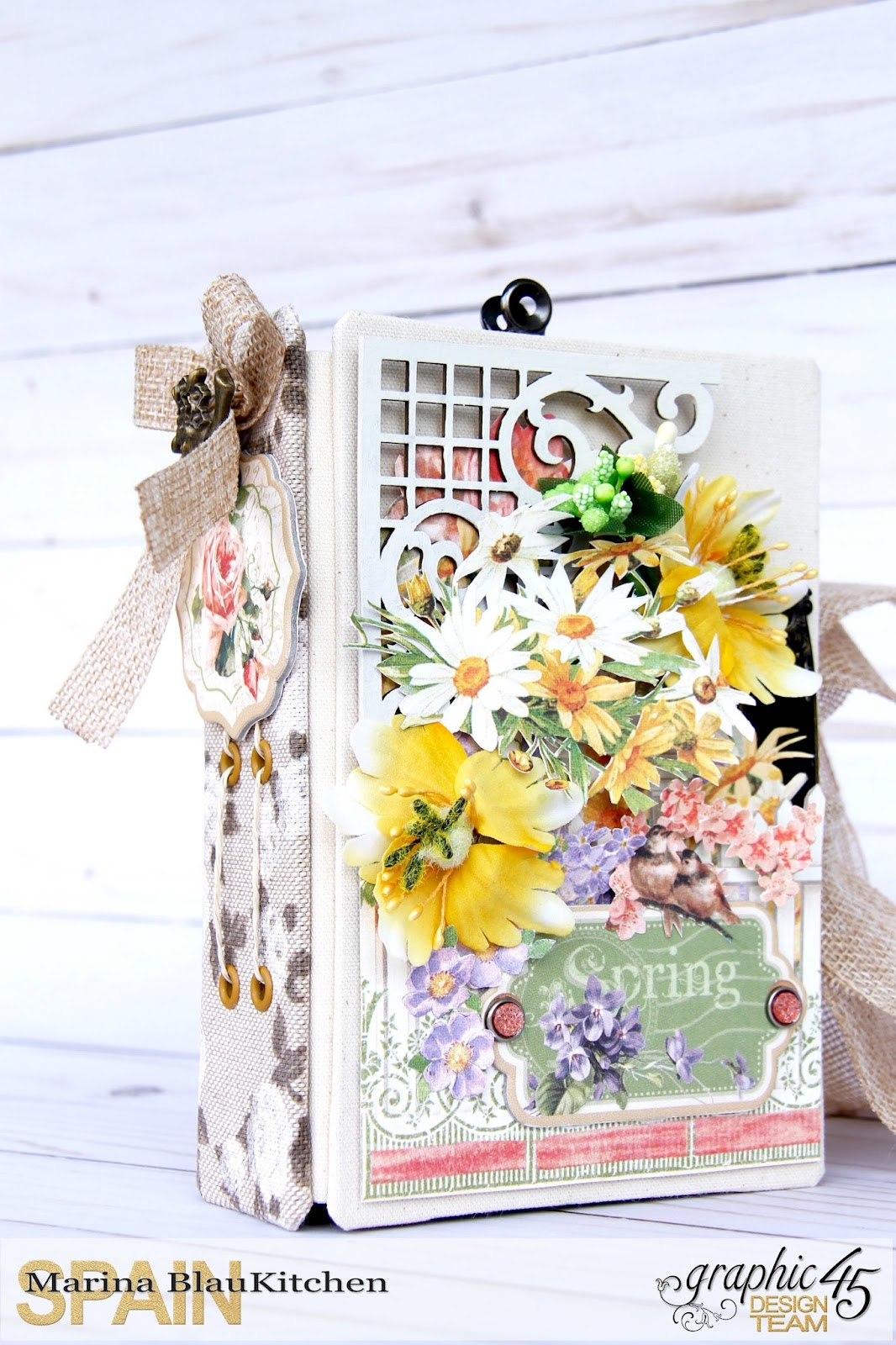 Four seasons Spring Album by Marina Blaukitchen Product by Graphic 45 photo 2.jpg