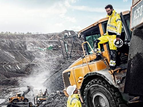 Blaklader werkkelding industrie bouw graven mijnbouw